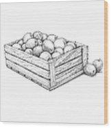 Applecrate Wood Print