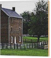 Appomattox County Jail Wood Print