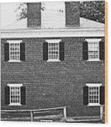 Appomattox Courthouse Wood Print by Teresa Mucha