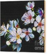 April All Aglow Wood Print