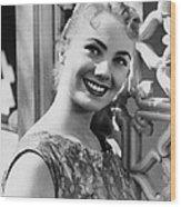 April Love, Shirley Jones, 1957 Wood Print by Everett