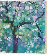 April Night Wood Print