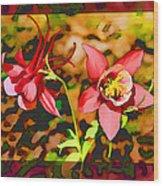 Aqualigia Sunlit Wood Print