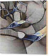 Aquarell Klar Wood Print