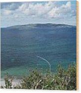 Arainn Mhor From Maghery Bay Wood Print