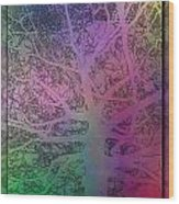 Arboreal Mist 1 Wood Print