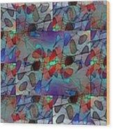 Arboretum Colorful Wood Print