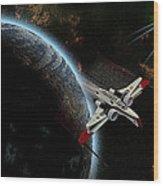 10117 Arc-170 Starfighter Wood Print