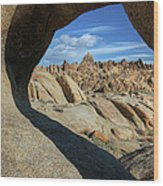 Arch Alabama Hills Wood Print
