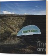 Arch And Islands Wood Print