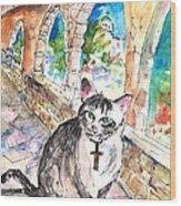 Arch Bishop Of Caterbury Wood Print
