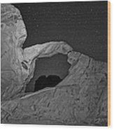 Arch In Valley Of Fire Nevada Wood Print