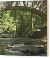 Arched Bridge Wood Print