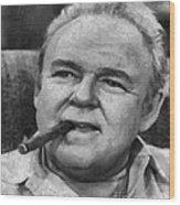 Archie Bunker Wood Print