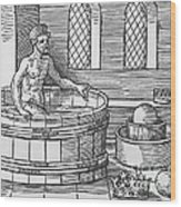 Archimedes And Hydrostatics Wood Print