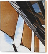 Architectural Detail 5 Wood Print