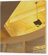 Architectural Interior 4 Wood Print