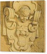 Architectural Ornament Wood Print