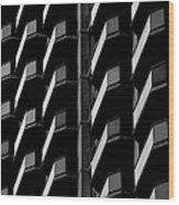 Architectural Uniformity Wood Print