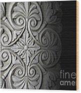 Architecture Detail Wood Print