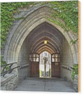 Archway At U Of T Campus Wood Print
