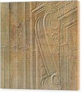 Arcitecural Art Wood Print