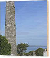 Ardmore Round Tower - Ireland Wood Print