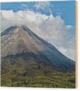 Arenal Volcano Costa Rica Wood Print