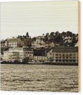 Arendal Cityscape Wood Print