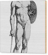 Ares, Greek God Of War Wood Print