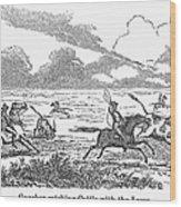 Argentina: Gauchos, 1853 Wood Print