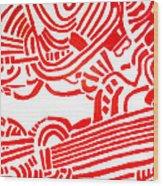Arise  Les Paul Wood Print