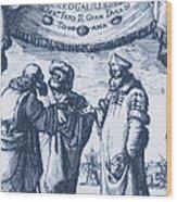 Aristotle, Ptolemy And Copernicus Wood Print