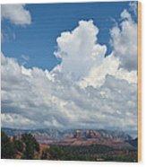 Arizona Highway Wood Print