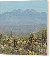 Arizona Scenic V Wood Print