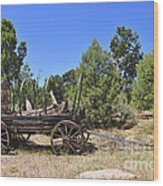 Arizona Wagon Wood Print