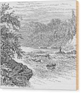 Arkansas: Ouachita River Wood Print by Granger