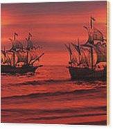 Armada Wood Print