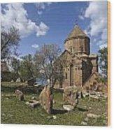 Armenian Church On Adkamar Island Wood Print