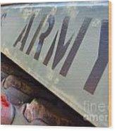 Army Wood Print