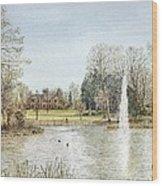Arnot Hill Park Wood Print