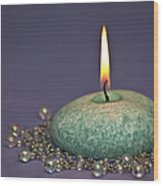 Aromatherapy Wood Print by Carolyn Marshall