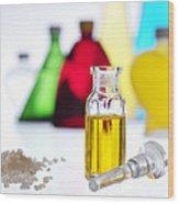 Aromatherapy Oils Wood Print