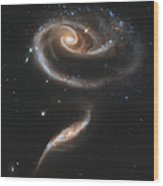 Arp 273 Interacting Galaxies Wood Print