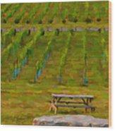 Arrington Vineyards Wood Print