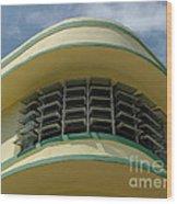Art Deco Detail Wood Print