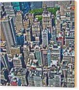 Art Deco New York City Wood Print