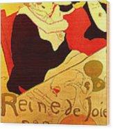 Art Poster Wood Print