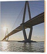Arthur Ravenel Jr Bridge Charleston South Carolina Wood Print