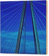 Arthur Ravenel Jr Bridge IIi Wood Print